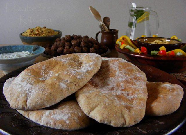 Aish Baladi Food in Egypt