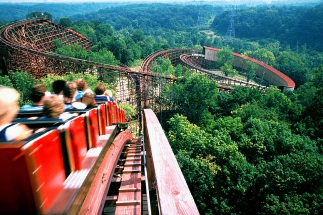 Amusement Park Ohio Kings Island