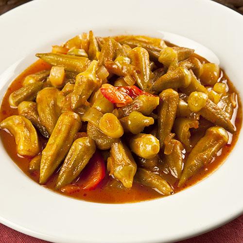 Bamya Egyptian Dinner Recipe