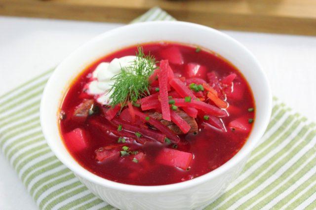 Borsch Borscht Borshch Ukrainian Soup