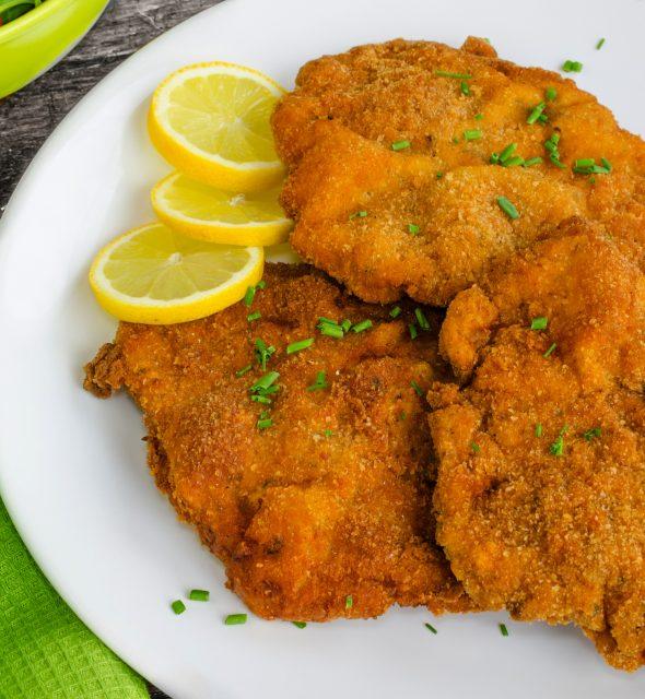 Chicken Pane Easy to Make Egyptian Snacks Food