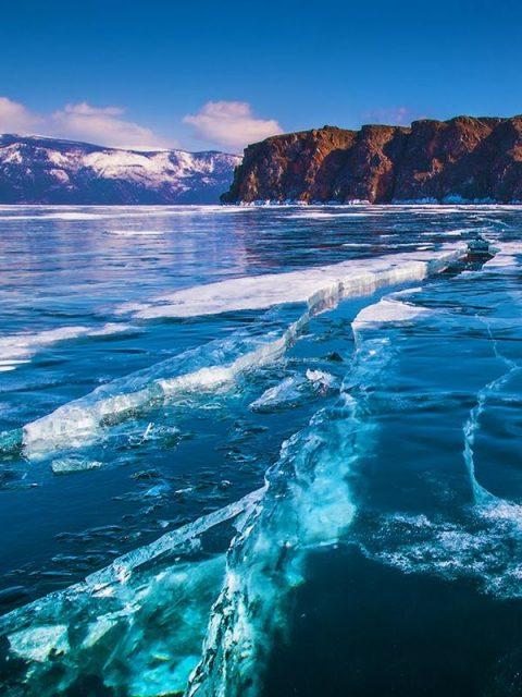 Deepest Freshwater Lake in the World Lake Baikal