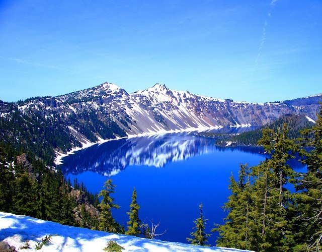 Deepest Lake Crater