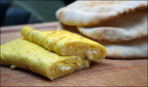 Feta Cheese Omelet Recipe Delicious Egyptian Food
