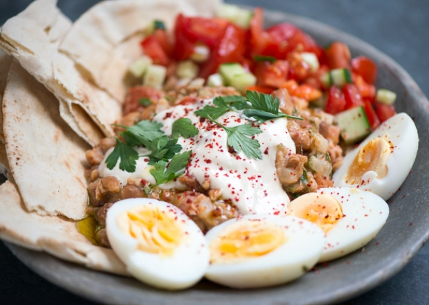 Ful Medames Traditional Egyptian National Food