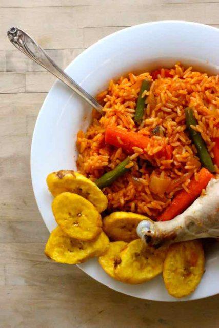 Jollof Rice One-pot Non Vegetarian Rice Dish