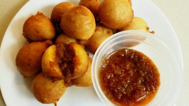 Liberian Pepper Kala Deep-fried Dumplings
