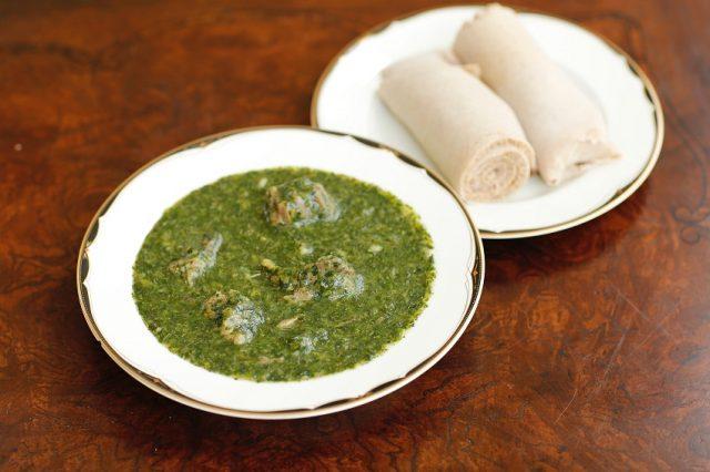 Molokhia Soup Egyptian National Cuisine