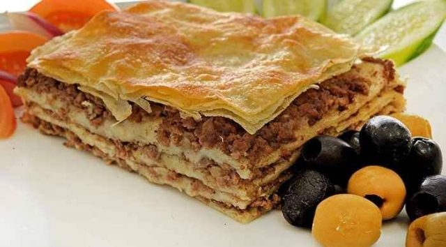 Phyllo Meat Pie Egyptian Snacks