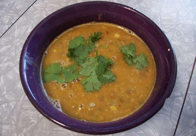 Red Lentil Soup Egyptian Vegetarian Soup