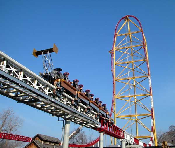 Cedar Point Tallest Roller Coaster Top Thrill Dragster