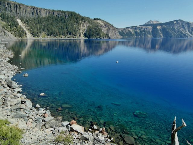 Crater Lake Clearest Lakes in the World