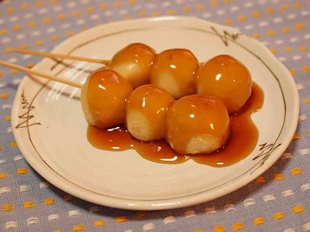 Dango – Japanese Sweet Rice Dumpling Dessert
