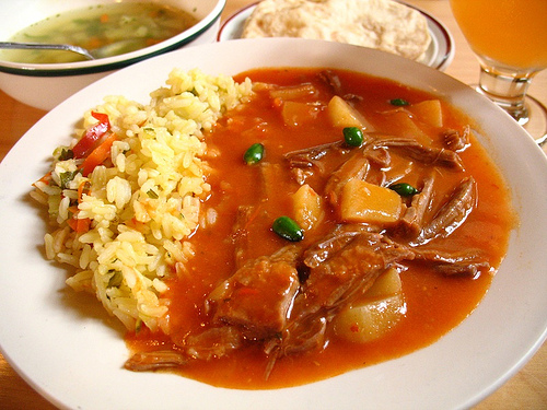 Hilachas Main Course Guatemalan Meat Dish
