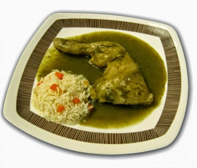Jocon Mayan Guatemalan Main Course Chicken Dish Green Sauce