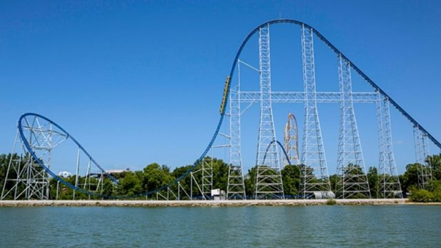 Tallest Roller Coaster US Millennium Force