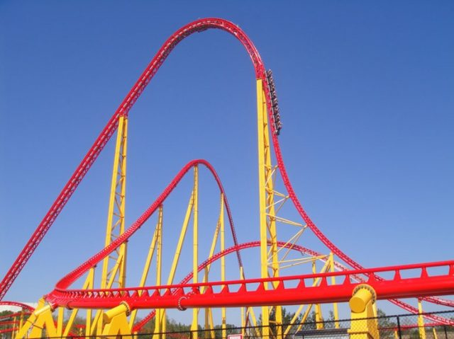 Tallest Roller Coaster in US Intimidator 305