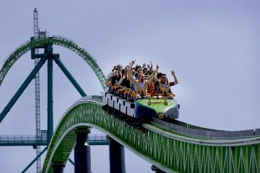 Tallest Roller Coaster in the United States Kingda Ka