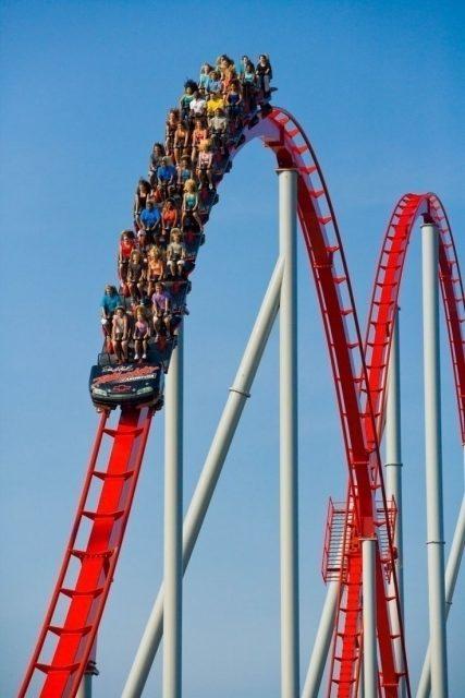 Tallest Steel Roller Coaster Intimidator