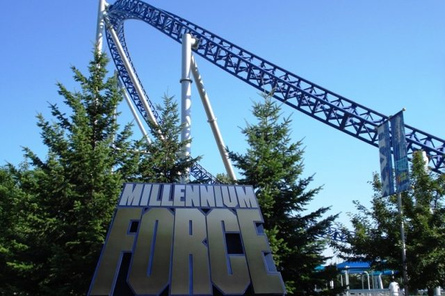 Tallest US Roller Coaster Millennium Force