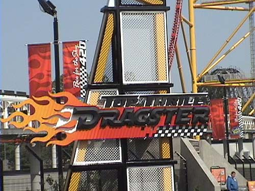 Tallest Vertical Drop Roller Coaster Top Thrill Dragster