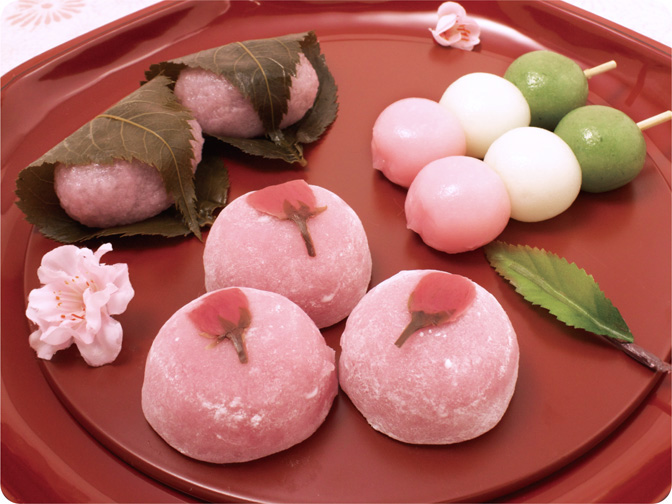 Japan Desserts And Sweets