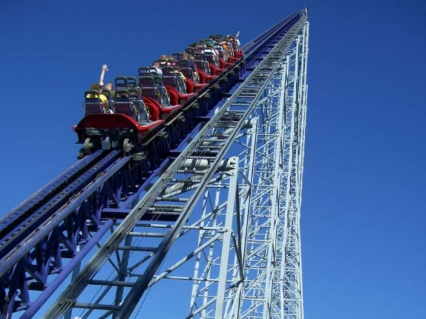 US Tallest Roller Coaster Millennium Force