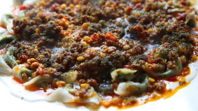 Ashak Traditional Dumpling Dish from Kabul