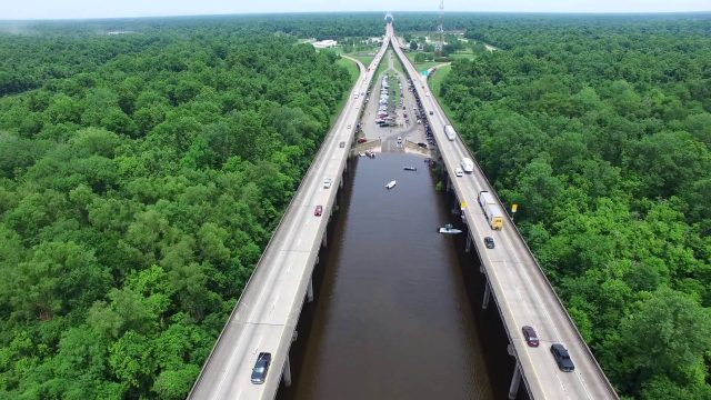 Atchafalaya Basin Longest Bridges in USA
