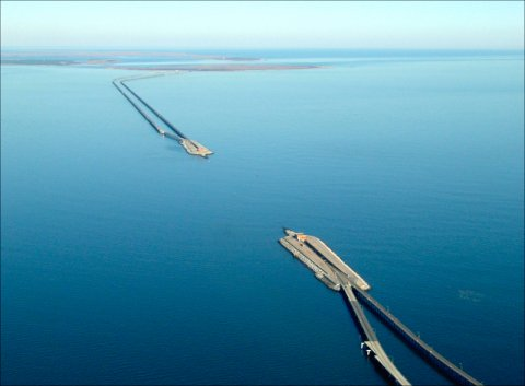 Chesapeake Bay Tunnel Longest Bridge in USA