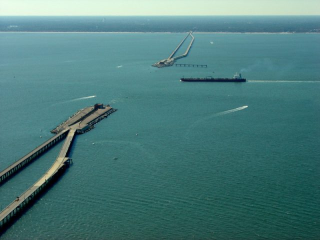 Chesapeake Bay Tunnel Longest Bridge over Water in USA