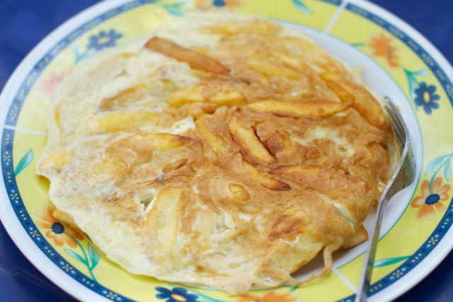 Chips Mayai Famous Street Food from Kenya