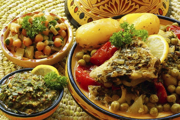 Foods from the Moroccan Cuisine