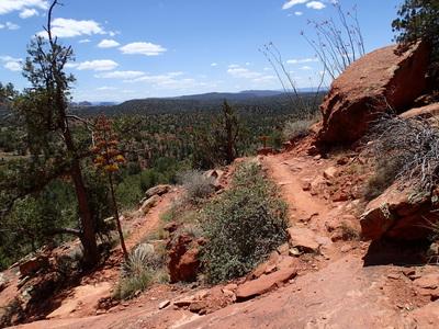 Hiking Sedona Mescal Mountain Trail