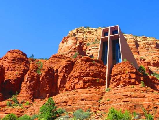 Hiking Trails in Sedona Chapel of the Holy Cross Trail