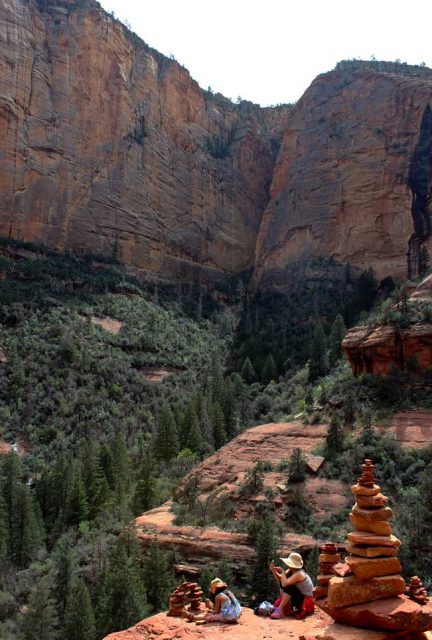 Hiking in Sedona Boynton Canyon Trail