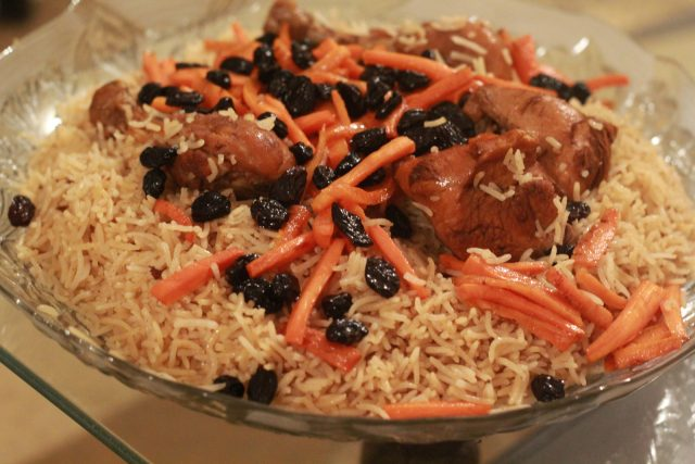 Kabuli Pulao – National Dish of Afghanistan