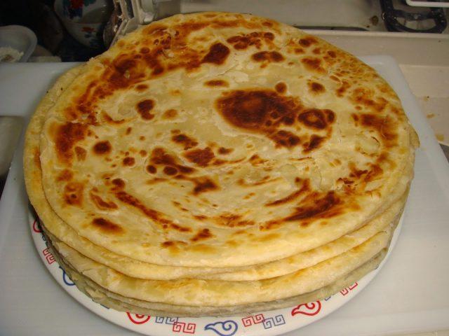 Kenyan Chapati Classic Style Bread Dish