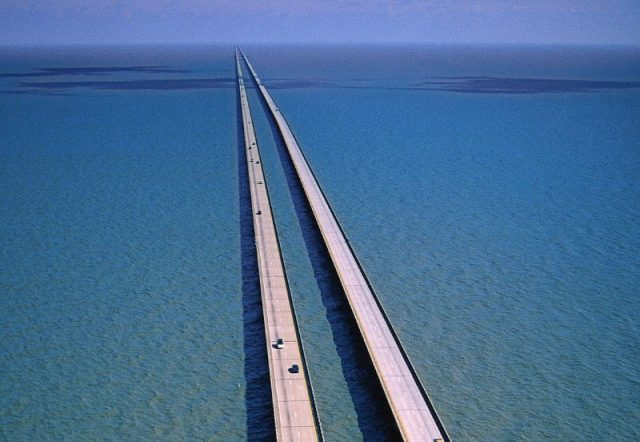 Lake Pontchartrain Causeway Longest Bridge in USA
