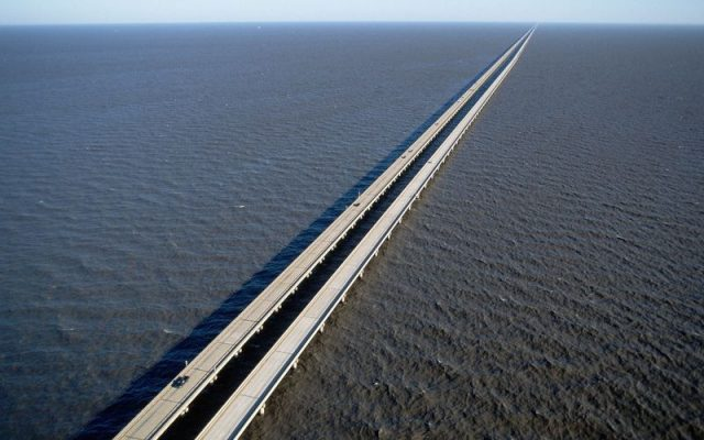 Lake Pontchartrain Causeway World's Longest Bridge in USA