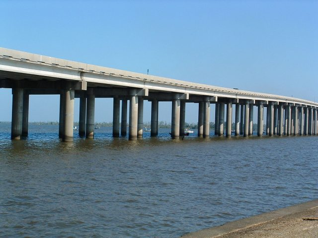 Manchac Swamp World's Longest Bridge in USA
