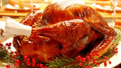 Maple Roast Turkey and Gravy Canadian Thanksgiving Food