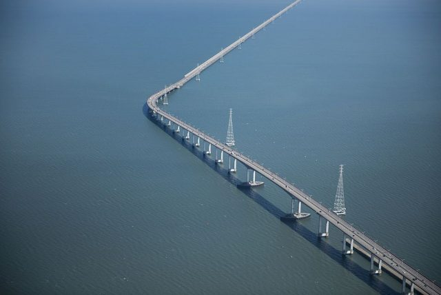 San Mateo Hayward Worlds Longest Bridge in USA