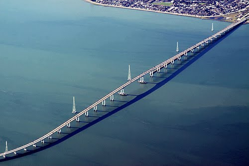 San Mateo–Hayward Longest Bridge USA