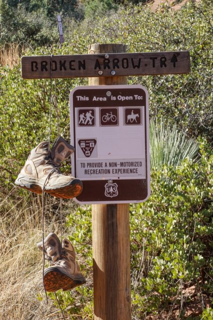 Sedona Hiking Broken Arrow Trail