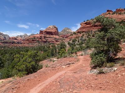 Sedona Hiking Mescal Mountain Trail
