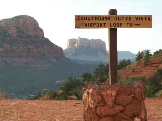 Sedona Hiking Trails Airport Loop Trail