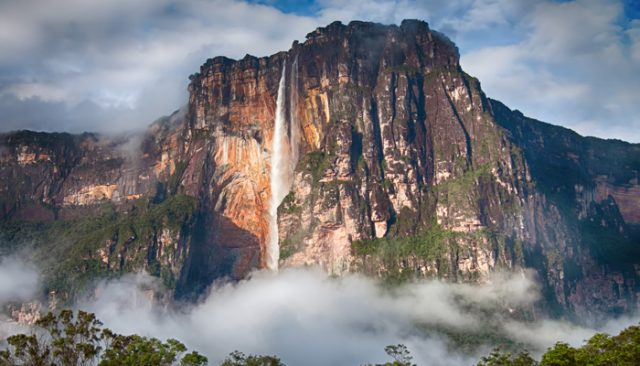 Tallest Waterfall in the World Angel Falls