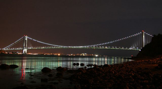 Verrazano-Narrows Bridge Longest Suspension Bridge in the USA