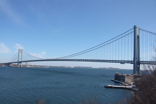 Verrazano-Narrows Longest Suspension Bridge in the USA
